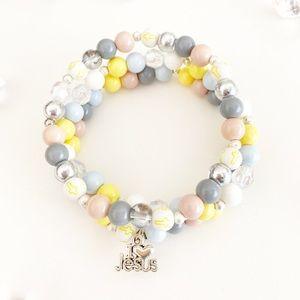 Bead Bracelets for Women, Handmade, Christian